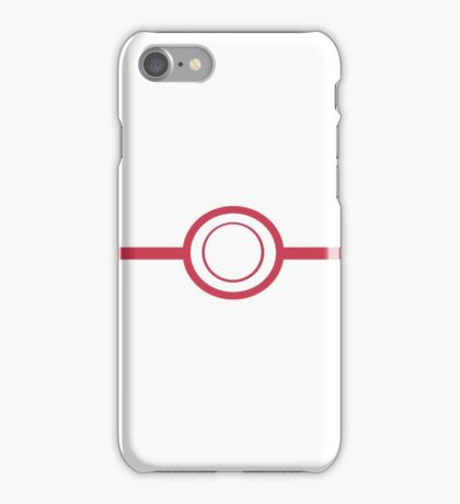 Pokemon - Premier Ball iPhone Case/Skin