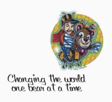 changing the world one bear at a time  One Piece - Short Sleeve