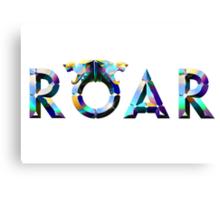 Katy Perry ROAR Logo Canvas Print