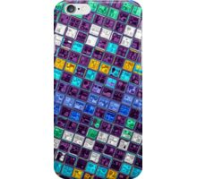 Stained Glass Mosaic Pattern Abstract Art #3 iPhone Case/Skin