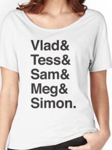 Vlad & Tess & Sam & Meg and Simon. Women's Relaxed Fit T-Shirt