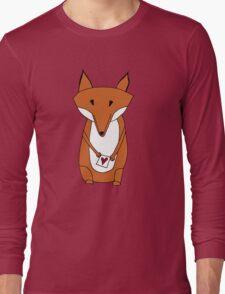 Mr. Fox Loveletter Long Sleeve T-Shirt