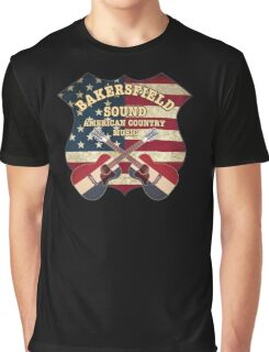 Bakersfield Sound shield Graphic T-Shirt