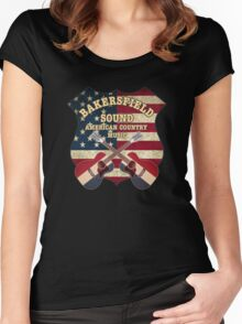 Bakersfield Sound shield Women's Fitted Scoop T-Shirt