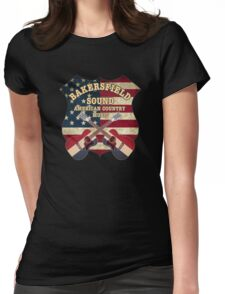 Bakersfield Sound shield Womens Fitted T-Shirt