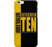 Nevermind Ten Facelift Louder than the Sound Grunge albums iPhone Case/Skin