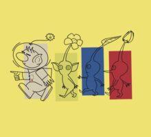 Pikmin Trails Kids Clothes