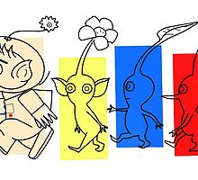 Pikmin Trails by -DBM
