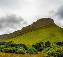 Benbulben Mountain, Sligo, Ireland 2 by Mark Bangert