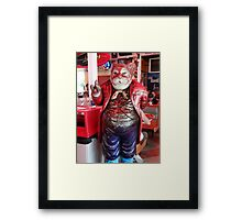 May I show you to your table? Framed Print