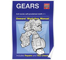 Owners' Manual - Gears (Transformers) - Poster Poster