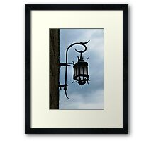 The Ancient Lamp Framed Print