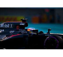 Formula 1 racing cars 2016 Photographic Print