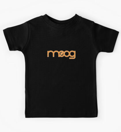 Vintage Orange Moog Kids Tee
