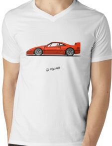 Dreamcar from the childhood Mens V-Neck T-Shirt
