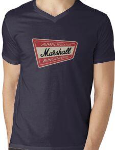 Vintage Marshall Amp  Mens V-Neck T-Shirt