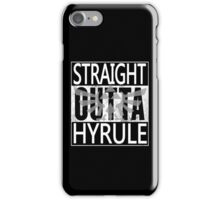 Straight Outta Hyrule iPhone Case/Skin