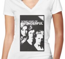 Some Kind of Wonderful Women's Fitted V-Neck T-Shirt