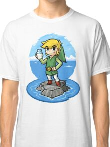 Zelda Wind Waker Bottle of Milk Classic T-Shirt