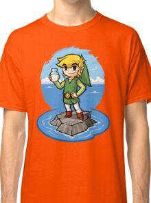 Zelda Wind Waker Bottle of Milk Classic T-Shirt