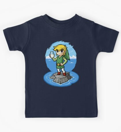 Zelda Wind Waker Bottle of Milk Kids Tee