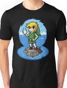 Zelda Wind Waker Bottle of Milk Unisex T-Shirt