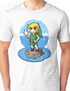 Zelda Wind Waker Bottle of Milk Unisex T-Shirt