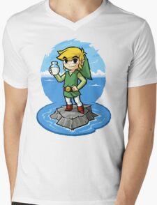 Zelda Wind Waker Bottle of Milk Mens V-Neck T-Shirt