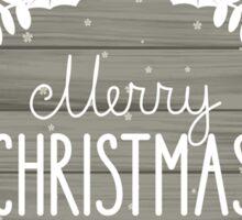 Merry Christmas Poster Sticker