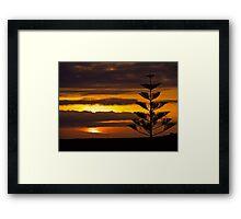 Canarian Sunset, Tenerife Framed Print