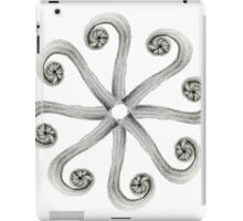 Fern frond- compilation iPad Case/Skin