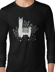 Smug Llama Long Sleeve T-Shirt