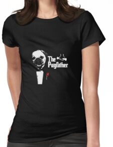 The Pug Father Womens Fitted T-Shirt