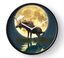 Moose Moon Clock
