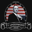 Frank Underwood T Shirt - House of Cards by devige