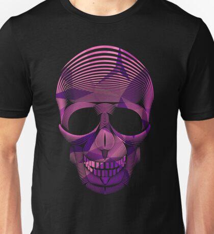 Pinky Skool Skull Unisex T-Shirt