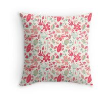 Cute Floral Pattern Throw Pillow