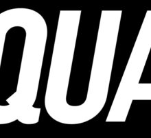 Squad 3 (Black)  Sticker