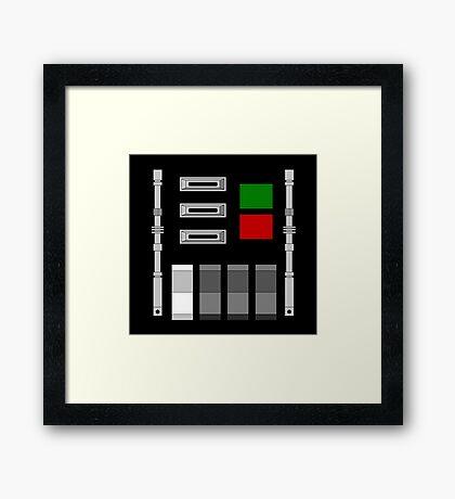 Vader chest box Framed Print