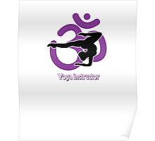 Yoga intrustor hoodies  Poster