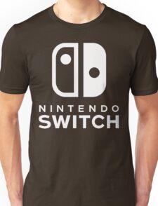 Nintendo Switch Hi-Res Logo Unisex T-Shirt