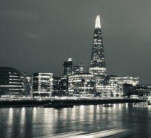 London Bridge Tower and Thames panorama Sticker