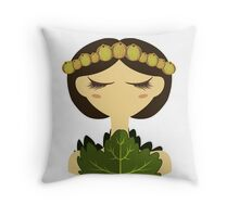 Gooseberry character vector illustration Throw Pillow