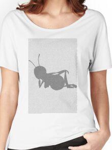 Bee movie script barry benson sleeping silhouette Women's Relaxed Fit T-Shirt