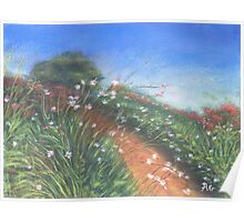 "Serenity"" Original art print ,Pastel painting Poster"