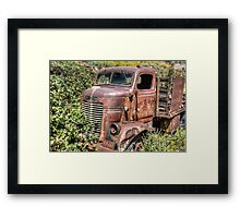 Dodge Truck Framed Print