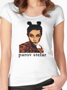 Parov stelar Women's Fitted Scoop T-Shirt