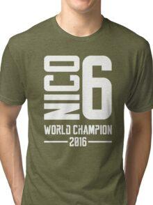 Nico Rosberg world champion 2016 Tri-blend T-Shirt