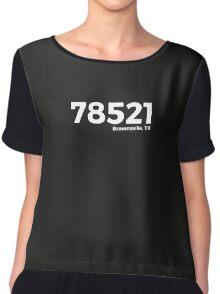 Brownsville, Texas Zip Code 78521 Chiffon Top