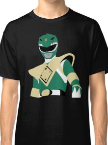 MMPR - Green Ranger Classic T-Shirt
